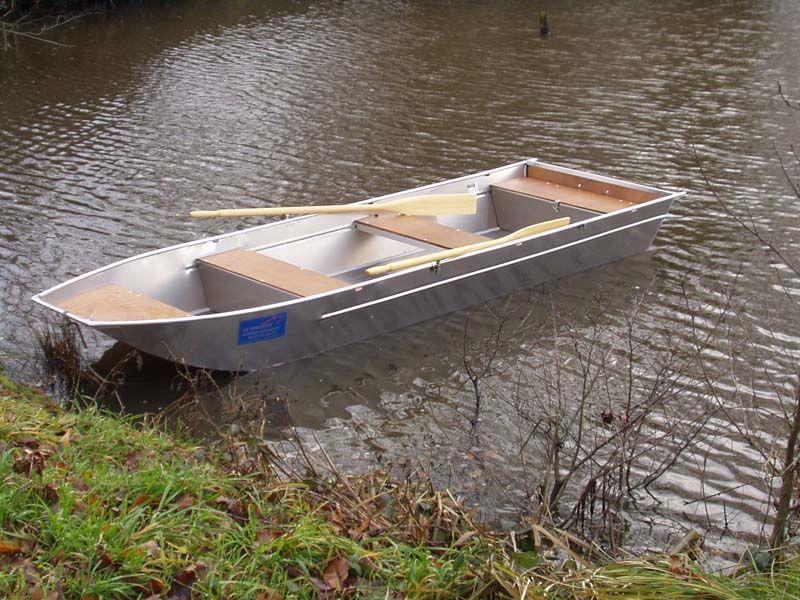 Barco de fondo plano (2)