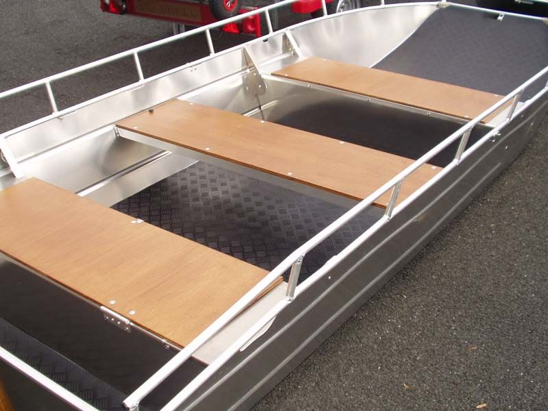 Barco de fondo plano (9)