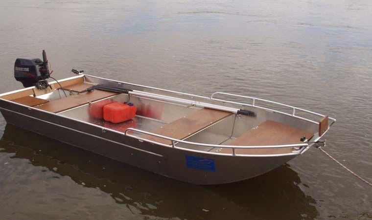 Barco de aluminio con fondo plano (19)
