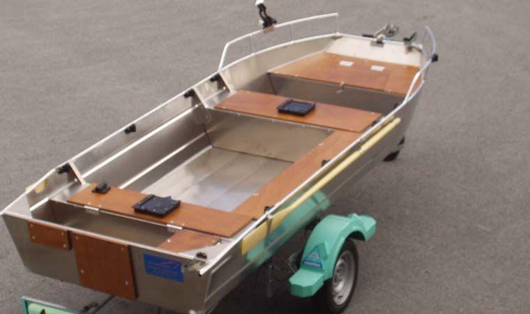Barco de aluminio con fondo plano (2)
