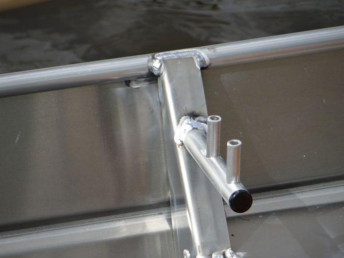 Barco de aluminio hecho a mano (14)