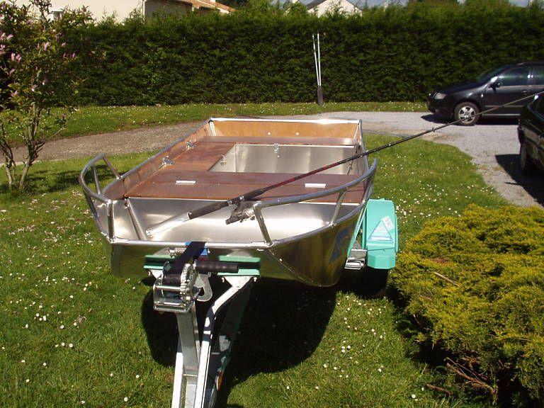 Barco de aluminio hecho a mano (24)