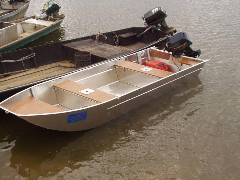 Barco de aluminio hecho a mano (8)