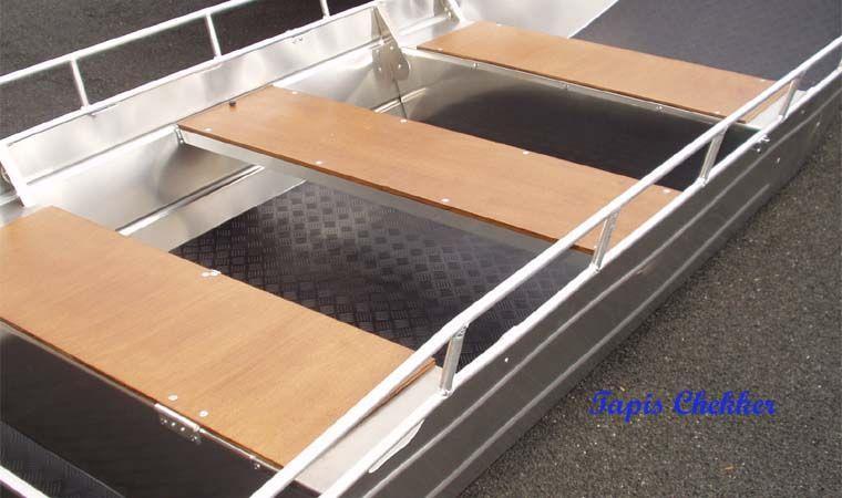 Barco de pesca de aluminio (4)