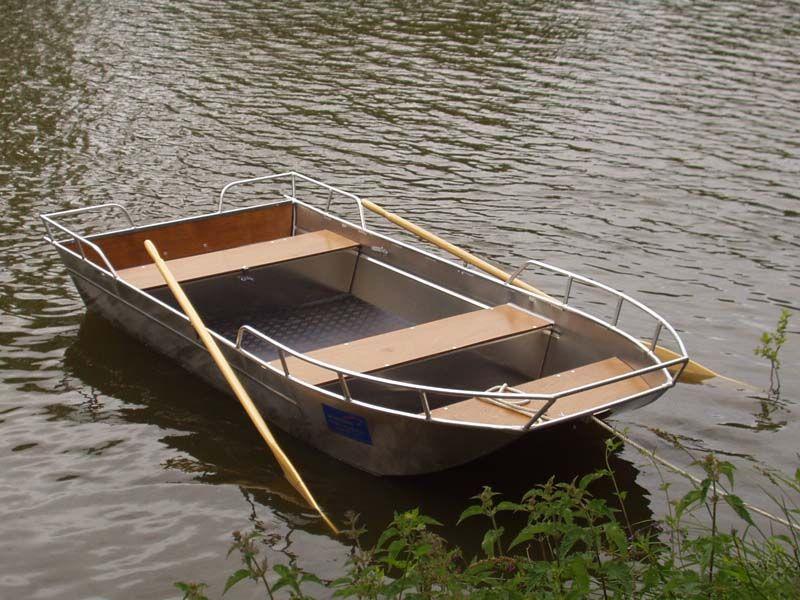 Barco de pesca de aluminio (5)