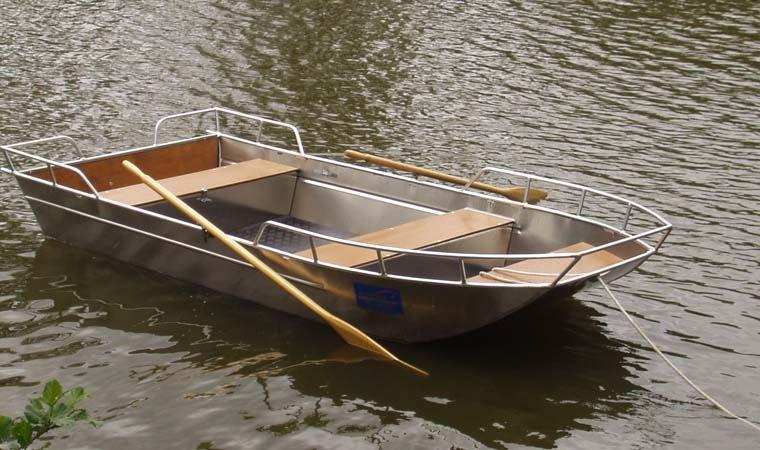 Barco de pesca de aluminio (7)