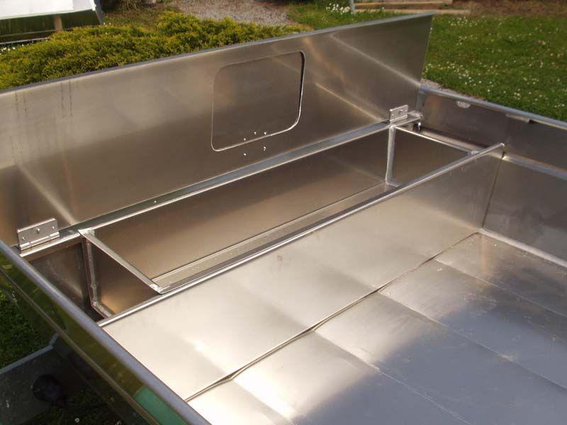 Barco de aluminio hecho a mano (5)